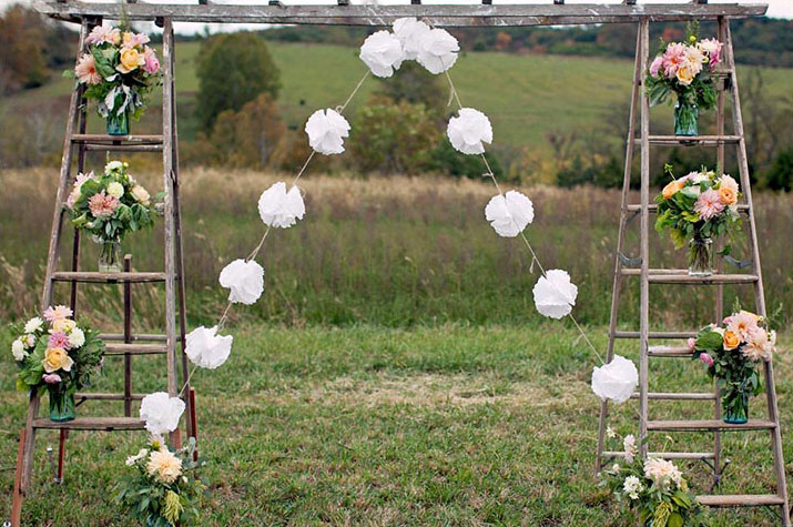 diy wedding ceremony arch designs
