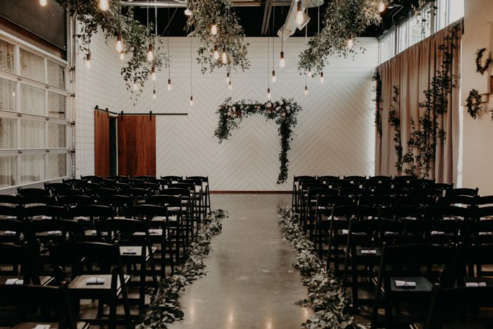 indoor wedding ceremony arch designs