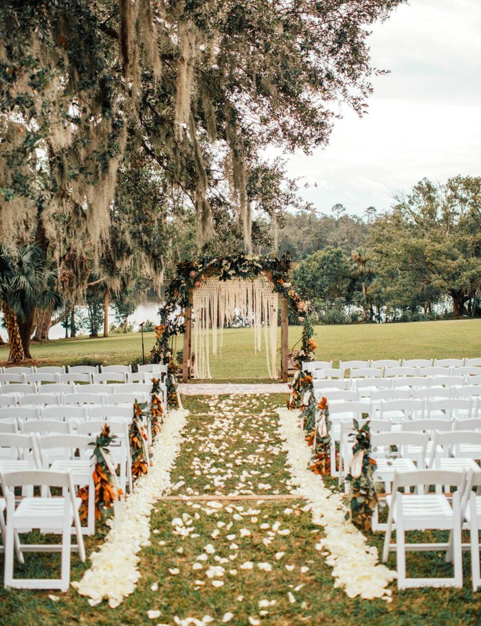 nature inspired wedding ceremony arch designs
