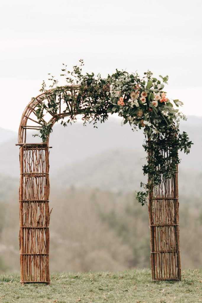 simple wedding ceremony arch designs