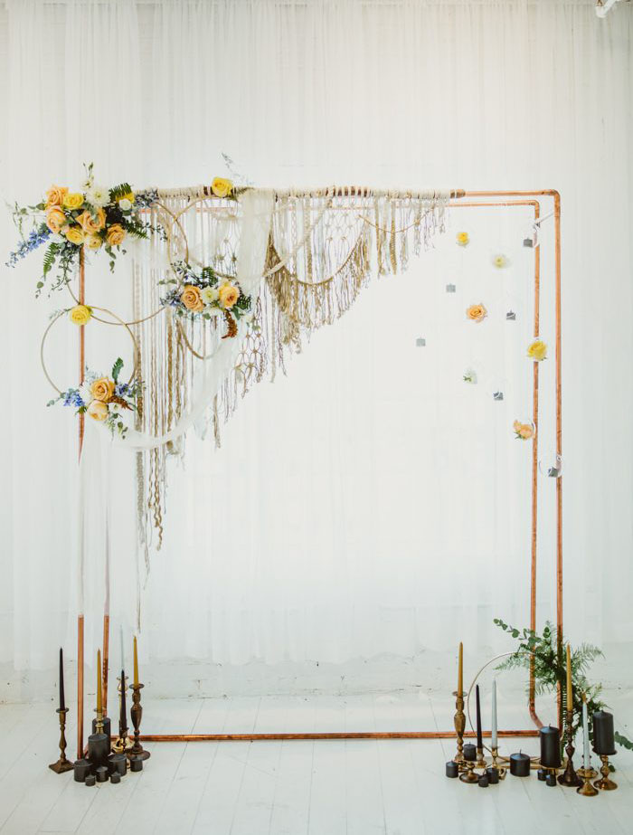 unique wedding ceremony arch designs
