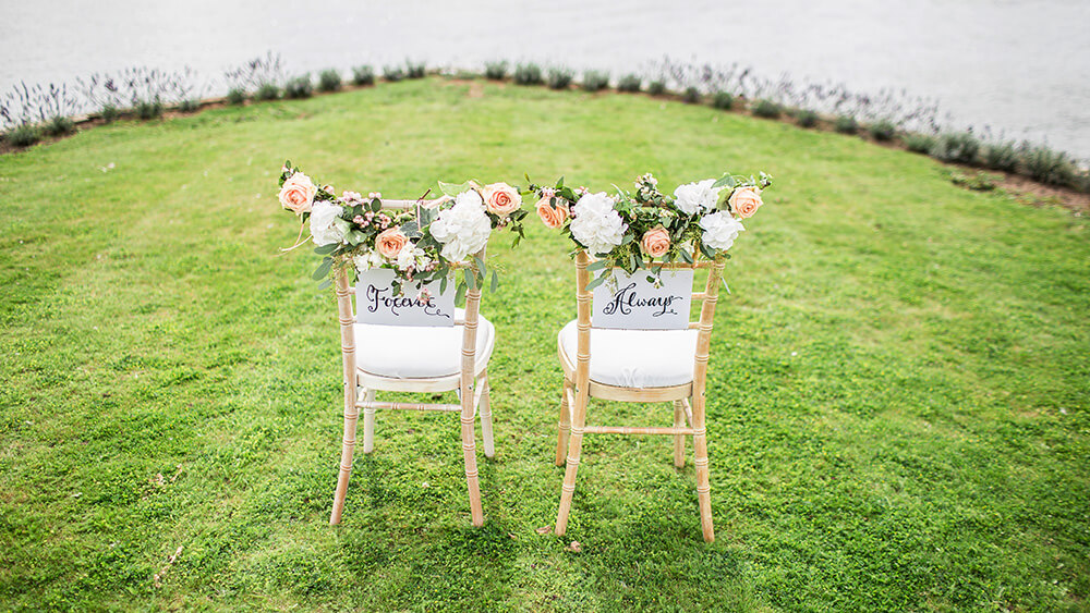 ideas for home wedding